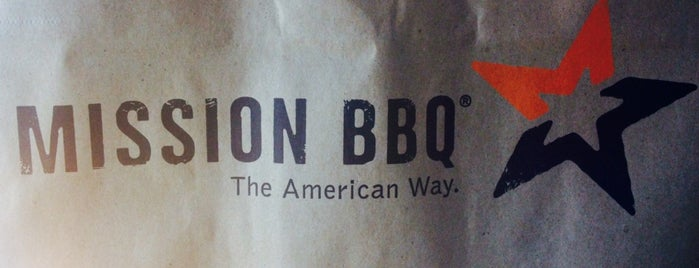 Mission BBQ is one of Places I've Reviewed.