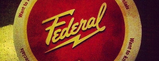 The Federal is one of Bull City Foodie Favorites.
