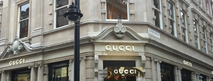 Gucci is one of UK Trip 2014.