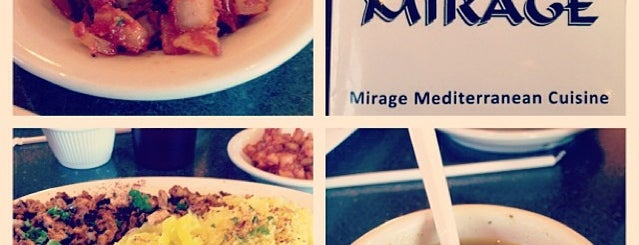 Mirage Mediterranean Restaurant is one of Out of town Restaurants.