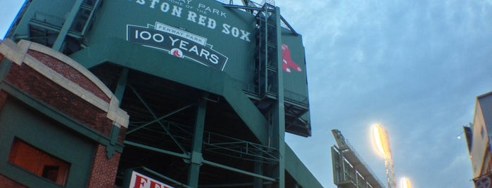 Fenway Park is one of MLB.