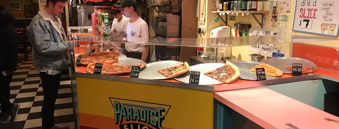 Paradise Slice is one of Indian to try.