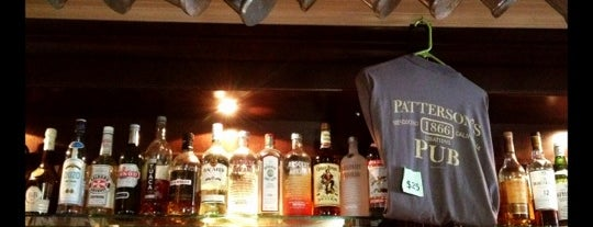 Patterson's Pub is one of Locais curtidos por Katherine.