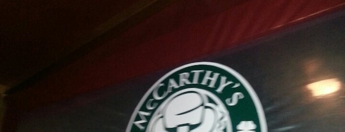 McCarthy's Irish pub is one of Infalibles.