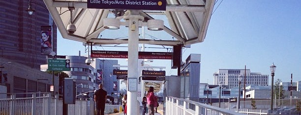Metro Rail - Little Tokyo/Arts District Station (Gold) is one of Downtown.