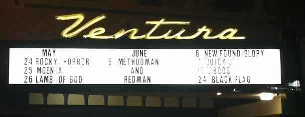 The Majestic Ventura Theater is one of Places to Perform..