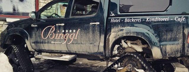 Café Binggl is one of Alpen-Tips.