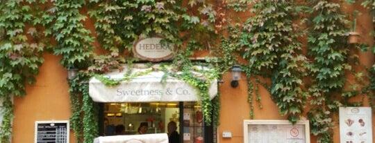 Hedera Icecream is one of Rome.