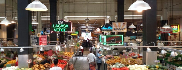 Grand Central Market is one of LA Food.