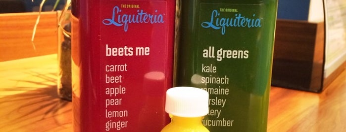 Liquiteria is one of OJ (Organic Juice) - NY airbnb.