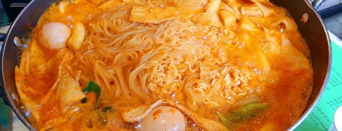 작은공간 is one of SEOUL tteokbokki.