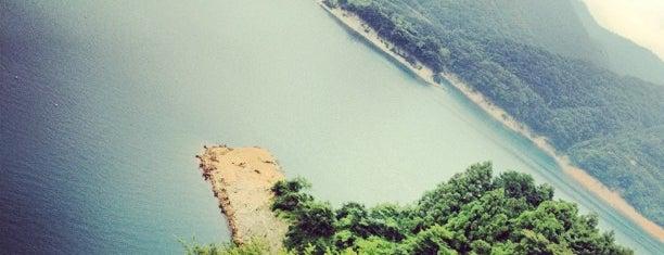 虹の大橋 is one of 宮ヶ瀬&津久井湖 ポタ=3=3=3.