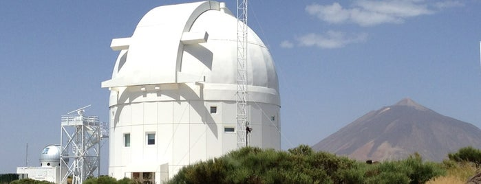 Observatorio del Teide is one of Lugares favoritos de Daniel.