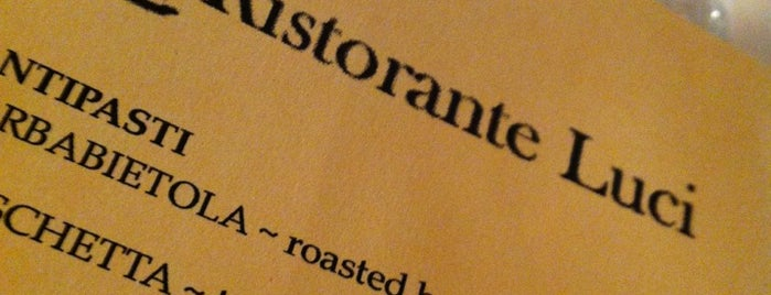 Ristorante Luci is one of Cheap Date Night.