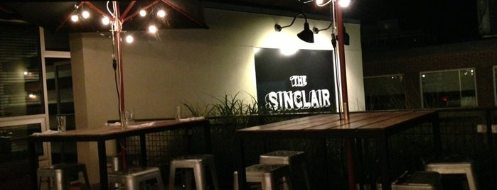 The Sinclair Kitchen is one of Boozin'.