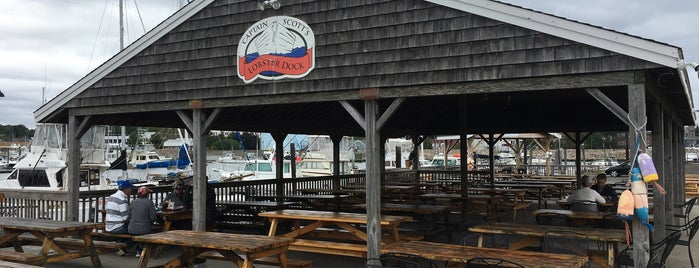 Captain Scott's Lobster Dock is one of Connecticut.