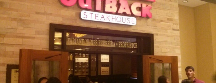 Outback Steakhouse is one of Posti che sono piaciuti a Bruno Eduardo.