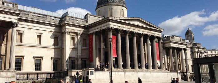 National Gallery is one of London Favorites.