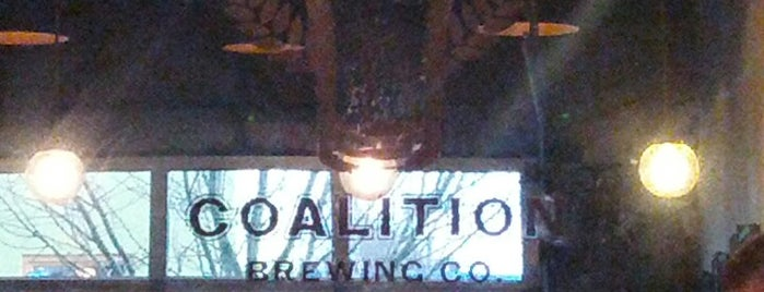 Coalition Brewing Co. is one of Portland's Best Brewpubs.