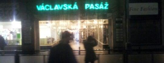 Václavská pasáž is one of Orte, die Кристина gefallen.