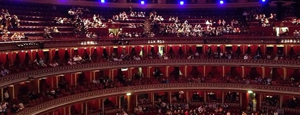 Royal Albert Hall is one of Gespeicherte Orte von Fusun.