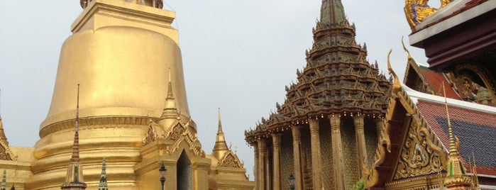 Temple of the Emerald Buddha is one of Bangkok.