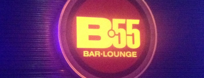 Bar Lounge 55 is one of Locais curtidos por Nicole.