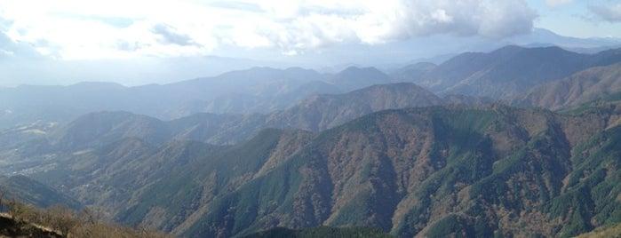 Mt.Sannotou is one of 丹沢・大山.