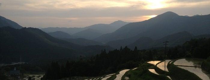 丸山千枚田 is one of 熊野古道 伊勢路.
