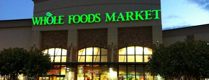 Whole Foods Market is one of Greensville,SC.