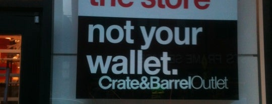 Crate & Barrel Outlet is one of Chicagoland.
