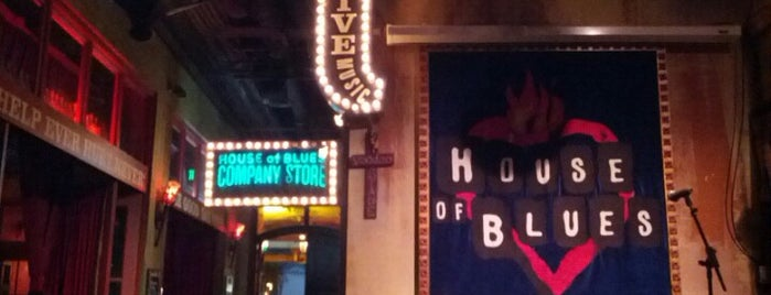 House of Blues San Diego is one of SD spots.