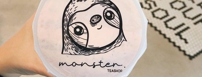 Monster Tea Shop is one of สถานที่ที่บันทึกไว้ของ Ceren.
