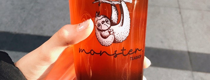 Monster Tea Shop is one of Locais salvos de Ceren.