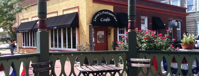 The Orange Blossom Cafe & Bakery is one of South Philly.