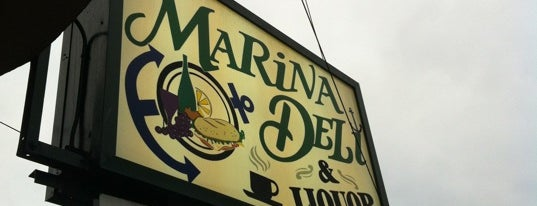 Marina Deli & Liquors is one of USA: San Francisco.