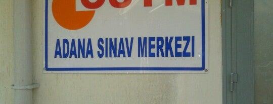 ÖSYM Adana Sınav Merkezi is one of Fadik : понравившиеся места.