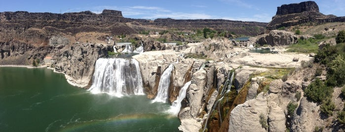 Shoshone Falls State Park is one of Lugares favoritos de IrmaZandl.