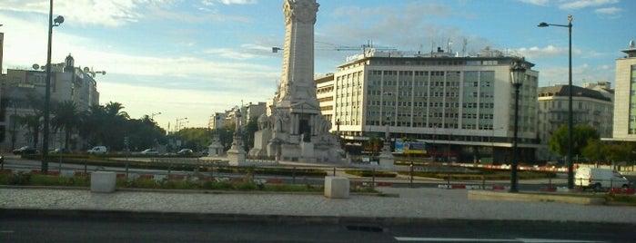 Marquês de Pombal is one of 101 coisas para fazer em Lisboa antes de morrer.