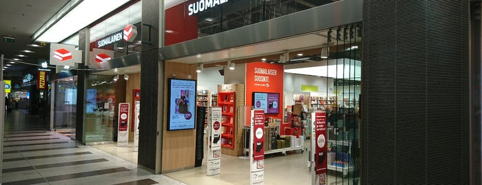 Suomalainen Kirjakauppa is one of Top picks for Bookstores.