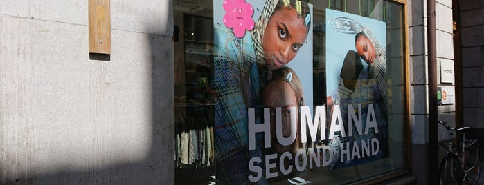 Humana Second Hand is one of Stockholm.