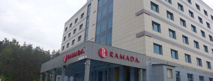 Ramada is one of «Коммерсантъ» в заведениях Москвы.