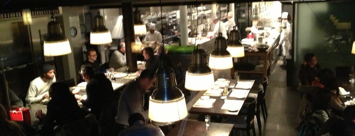 Mercer Kitchen is one of NYC Date Spots.