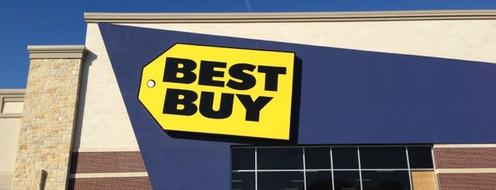 Best Buy is one of Tempat yang Disukai Kim.
