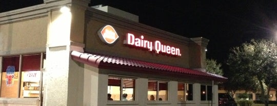 Dairy Queen is one of Lynnes list.