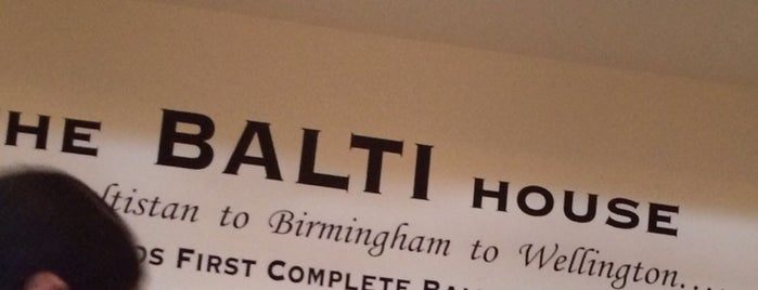 Balti House is one of Wellington.