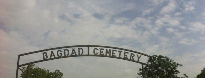 Bagdad Cemetery is one of Austin.