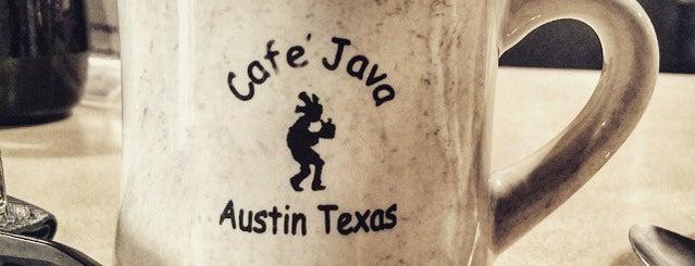 Cafe Java is one of Austin's Rockin' Fitness Scene.