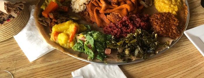 Lalibela Ethiopian Restaurant is one of To try LA!.