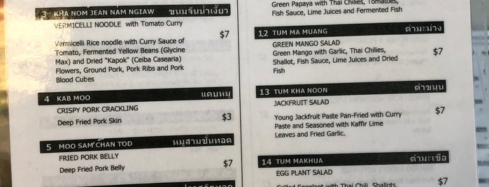 Northern Thai Food Club is one of LA Thai Food.